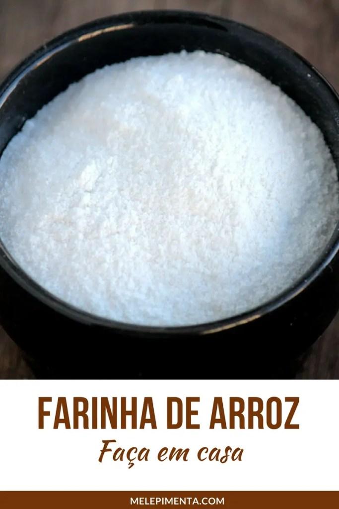 Farinha de arroz é uma opção livre de glúten que pode ser usada em diversos preparos. Aprenda como fazer farinha de arroz caseira e de forma mais econômica. Prepare seus pratos saudáveis, sem glúten e nutritivos.