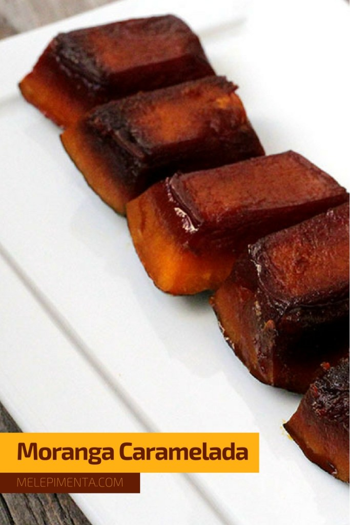 Moranga caramelada - Uma receita deliciosa desse acompanhamento ou sobremesa de abóbora que é tradicional da culinária gaúcha. Prepare a moranga caramelizada e sirva acompanhada de uma boa carne assada.