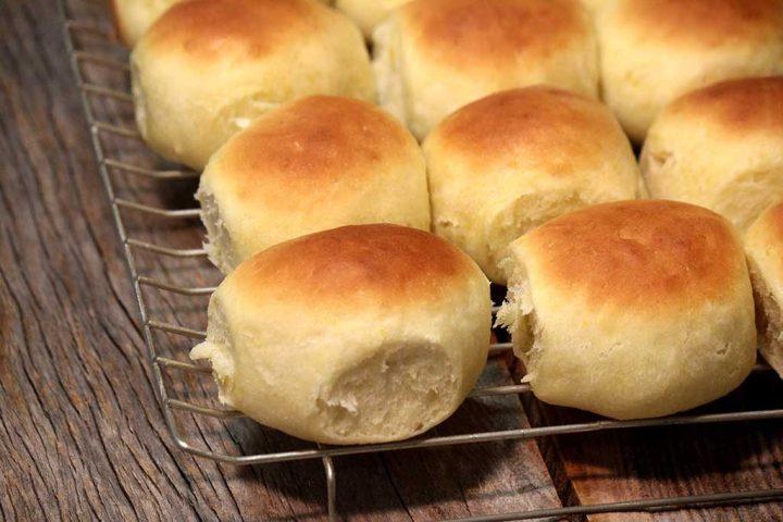 Pão de mandioquinha macio