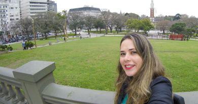 Plaza San Martin, uma pausa para observar a vida no centro de Buenos Aires