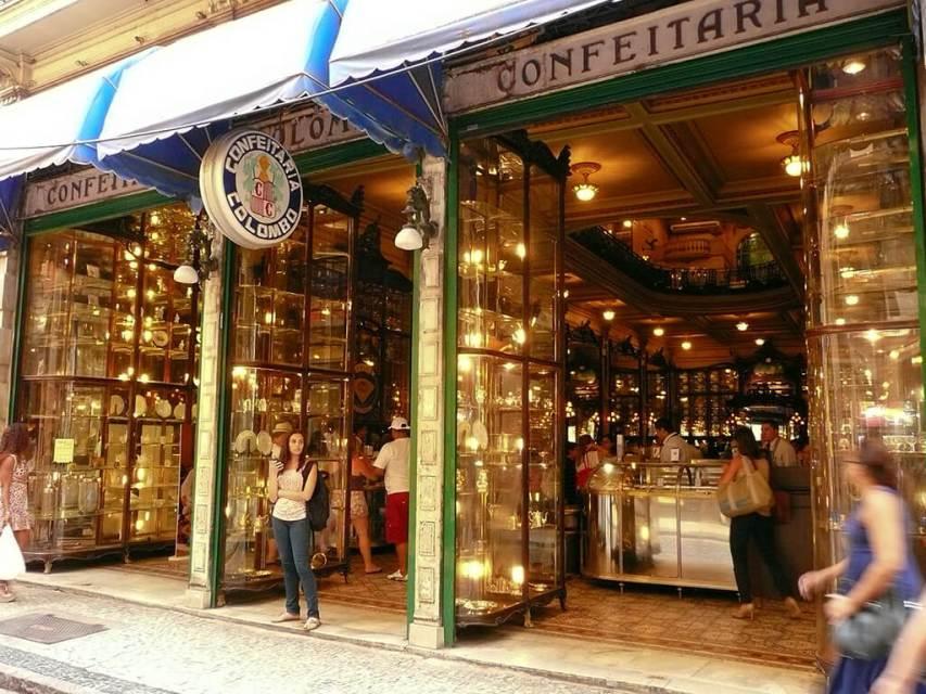 Onde comer no Rio de Janeiro Confeitaria Colombo