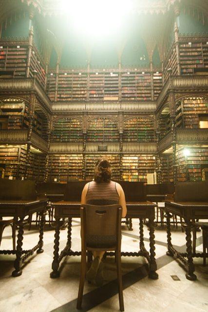 Principais atrativos do Rio de Janeiro Real Gabinete Português de Leitura: uma das bibliotecas mais bonitas do mundo