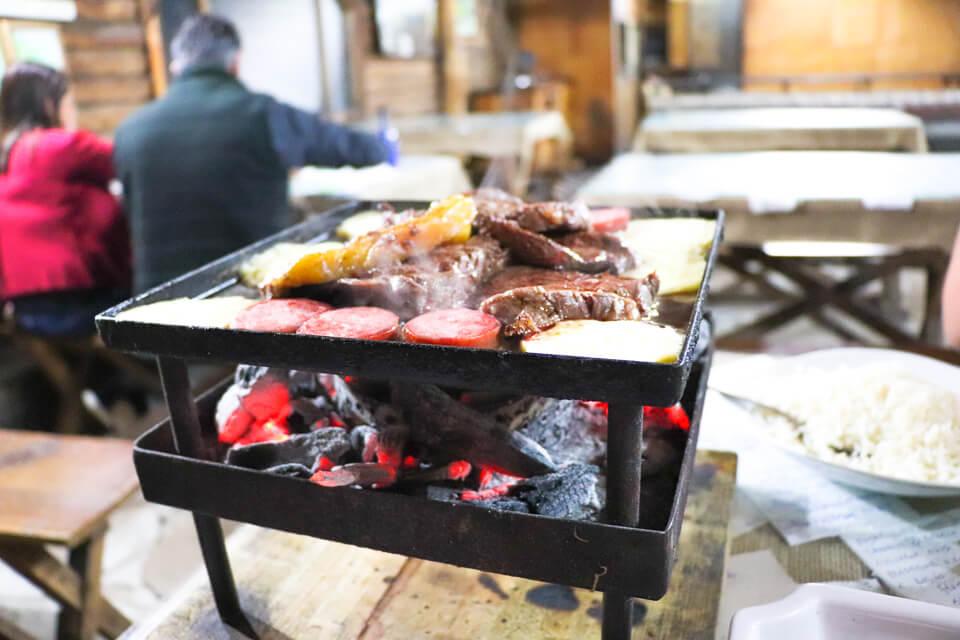 Onde comer em Cambará do Sul? Churrasco na brasa