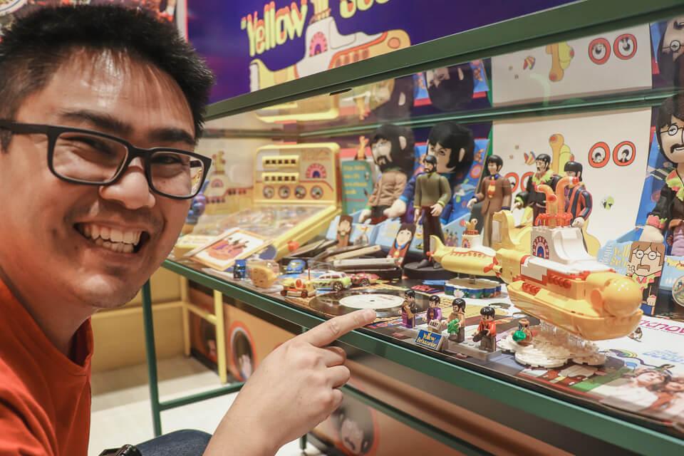 Miniaturas de legos dos Beatles em Canela