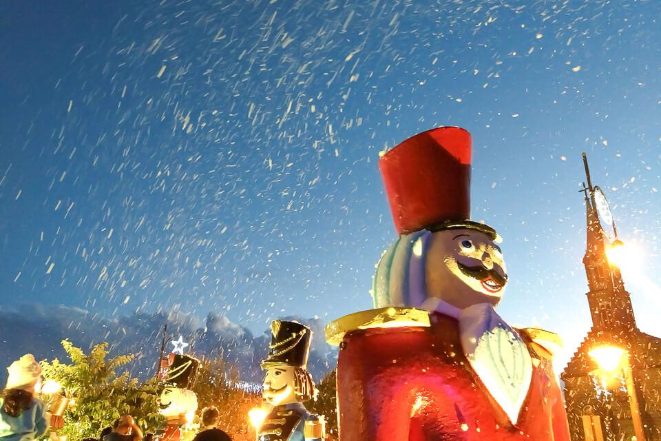 Shows de natal gratuito em Gramado? Acendimento das luzes