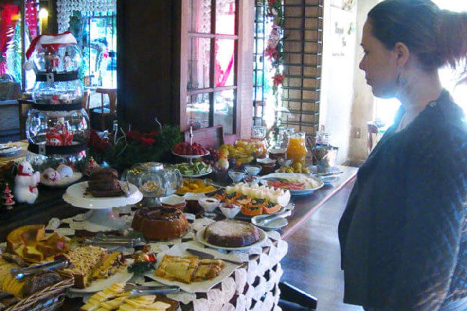 Café da manhã do hotel em Gramado - Roteiro de 3 dias em Gramado