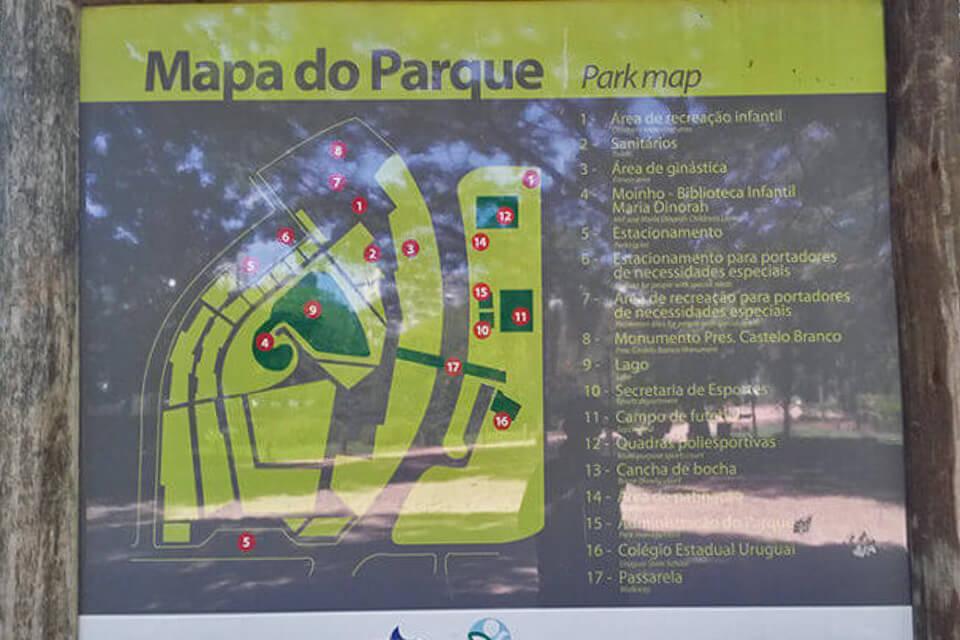 Lugares gratuitos para visitar em Porto Alegre Parque Moinhos de Vento (Parcão)
