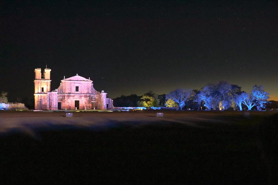 Show de Som e Luz nas Ruínas de São Miguel