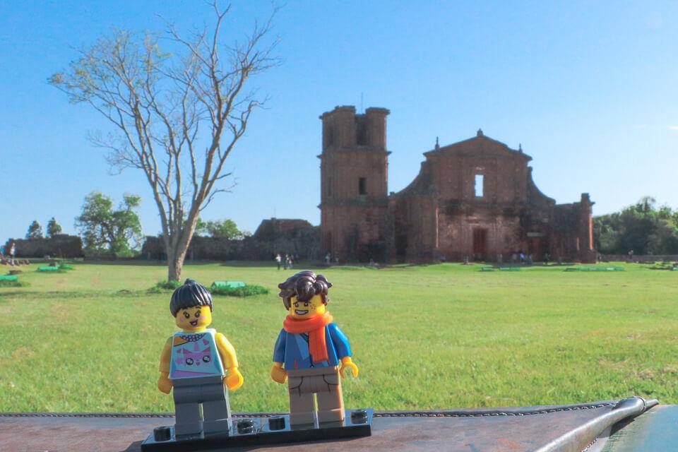 Ruínas de São Miguel e os Legos Viajantes, Rio Grande do Sul