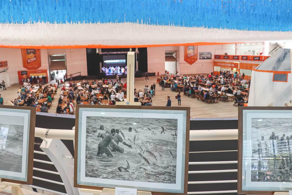 Exposição fotográfica na Marejada sobre o dia a dia dos pescadores