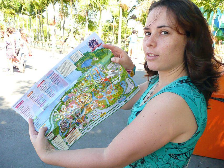 Principais atrativos do parque do Beto Carrero World