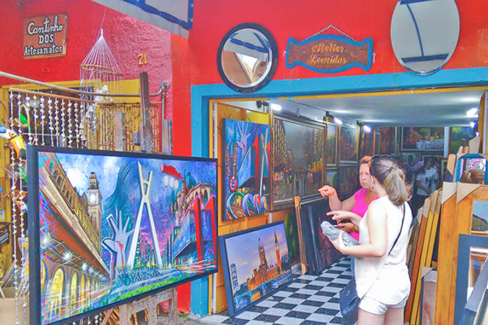Bate e Volta de Sampa pra Embu das Artes e faça compras no Atelier Leonidas