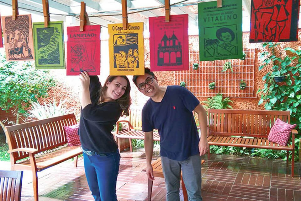 Bate e Volta de Sampa - Estação Literária Prof. Maria de Lourdes Évora Camargo