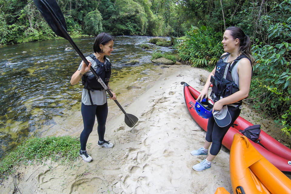 Pura Aventura - Instruções para Canoagem no Parque das Neblinas