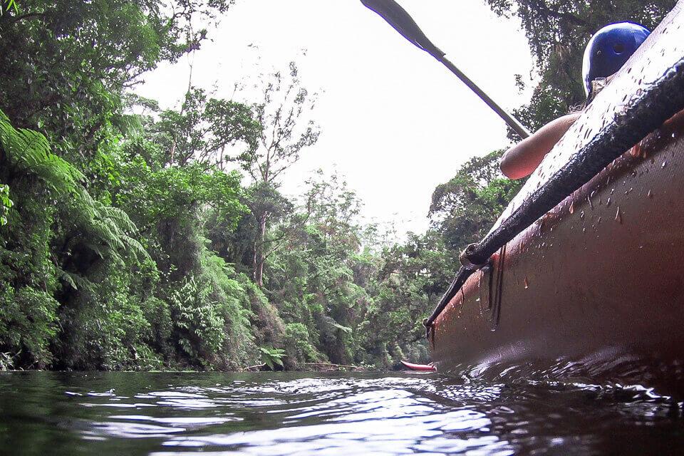 Pura Aventura - canoagem no Parque das Neblinas