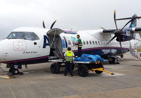 Como é voar com o avião ATR da Azul
