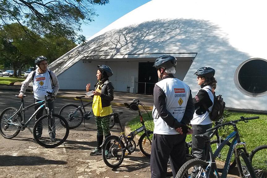 Passeio gratuito de bicicleta no Parque do ibirapuera