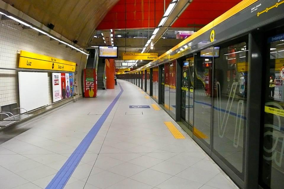 Como andar de metro em São Paulo
