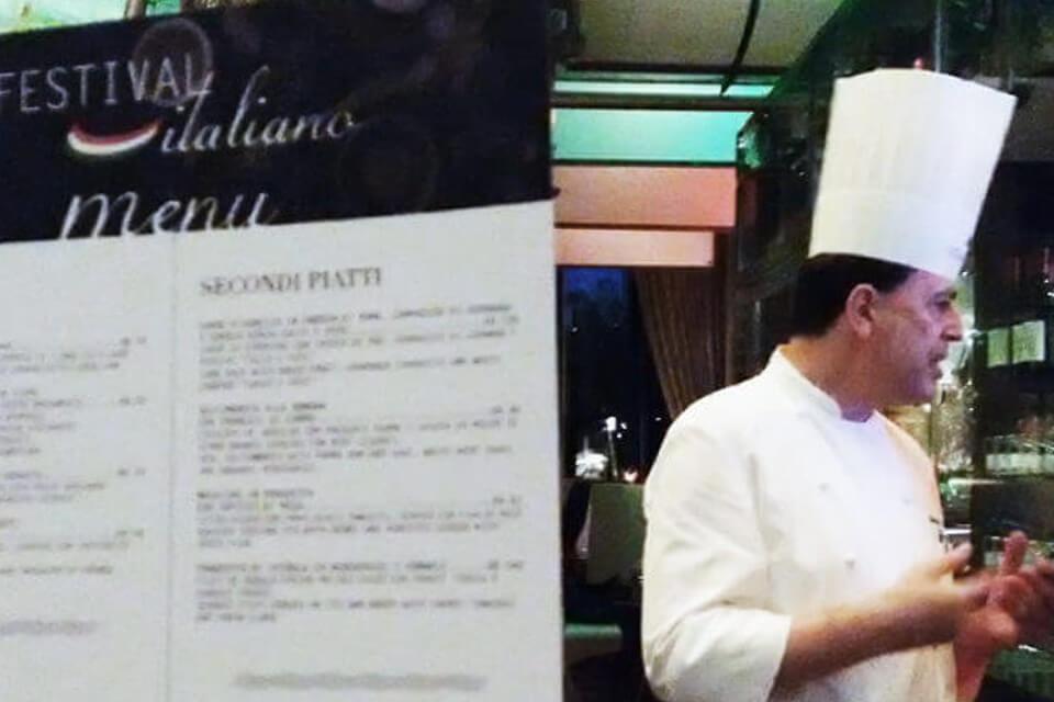 Festival Italiano no Hilton São Paulo Morumbi com chef Enzo Buffarini