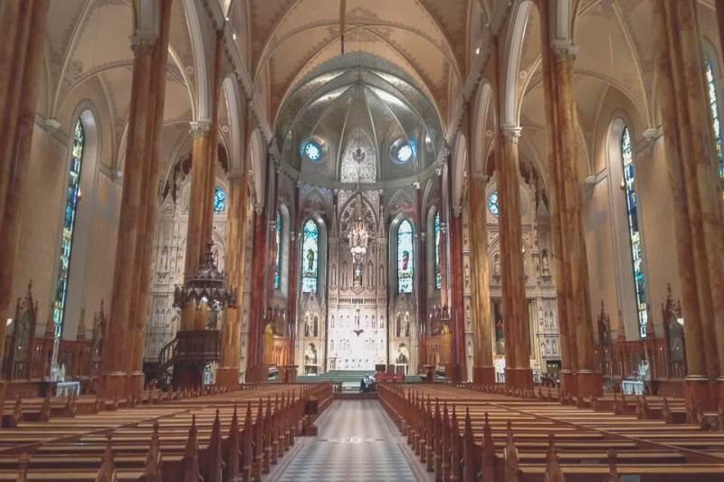O que fazer em Montreal? St. Patrick's Basilica