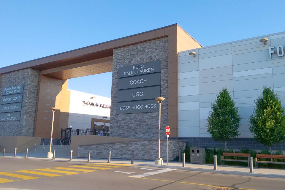 Onde fazer compras em Toronto - Outlet Collection at Niagara