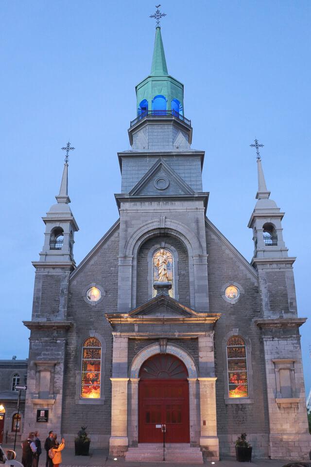 Me Leva De Leve - Canada - Capela Notre Dame de Bonsecours de Montreal