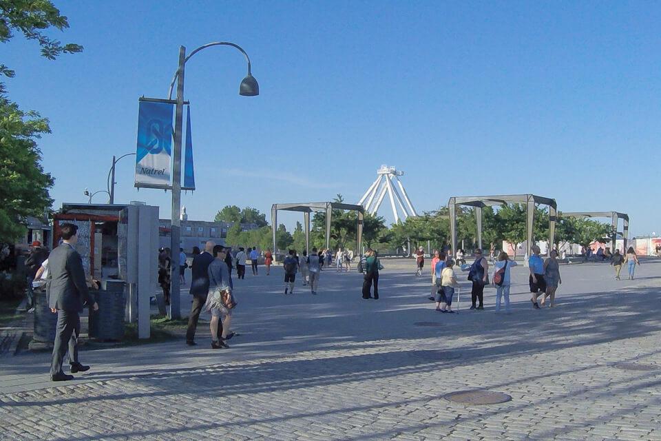 O que ver e fazer em Old Port Montreal? Roda gigante de Montreal