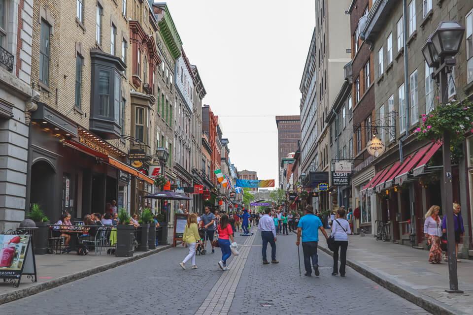 Roteiro de 3 dias em Quebec com dica de compras e restaurantes