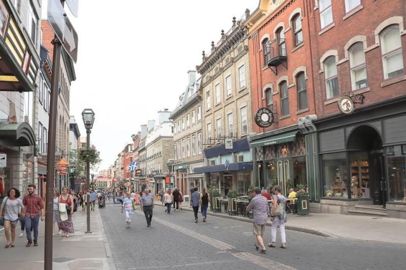 Rua Saint Jean, Quebec