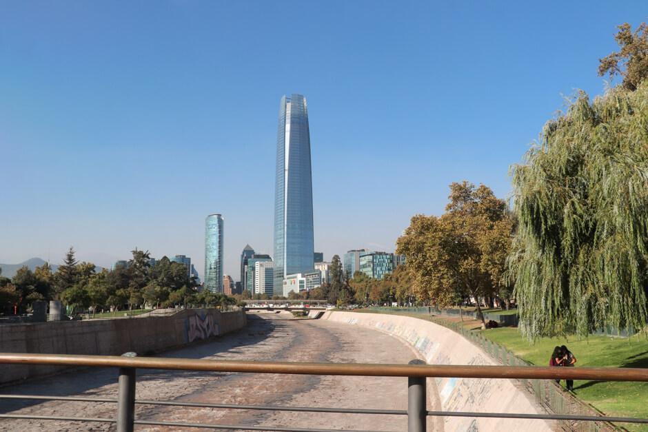 o que fazer em Santiago - Sky Costanera