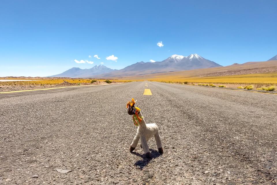 Quais são os desertos do trópico de capricórnio - Deserto do Atacama
