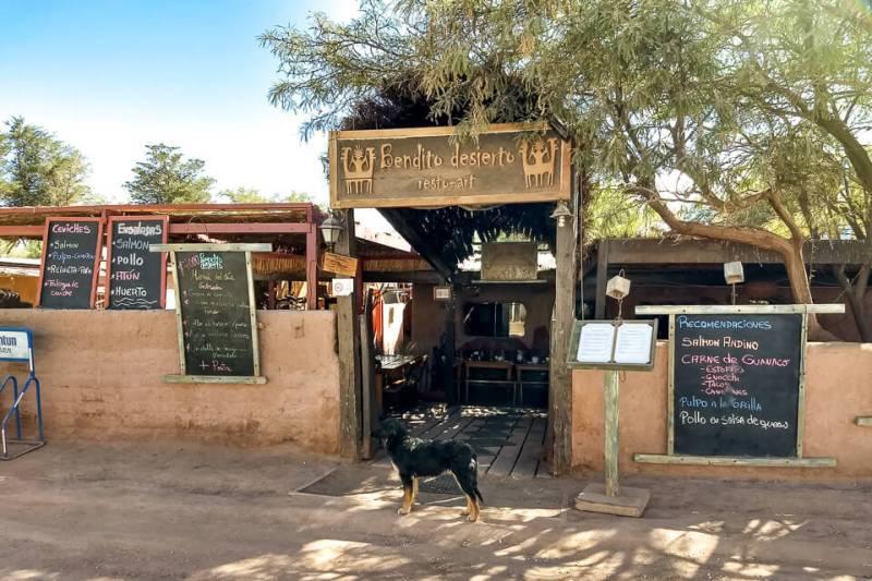 Roteiro de 6 dias no Atacama - opções de restaurantes econômicos em San Pedro de Atacama