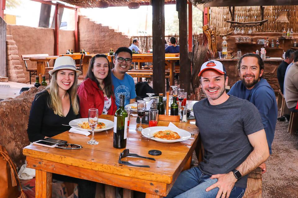 Onde comer em San Pedro de Atacama Chile
