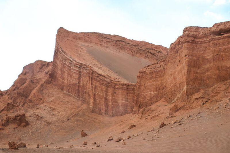 Anfiteatro valle de la luna e o valle de la muerte