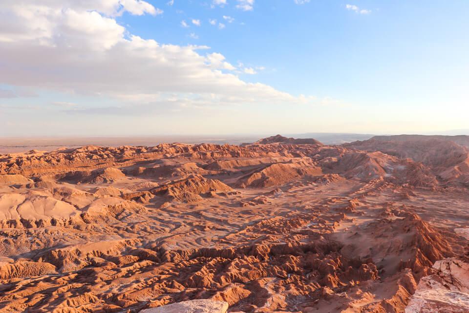 valle de la luna e o valle de la muerte Pedra do Coyote