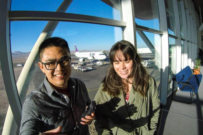 Como é voar com a Sky Airlines para o Atacama
