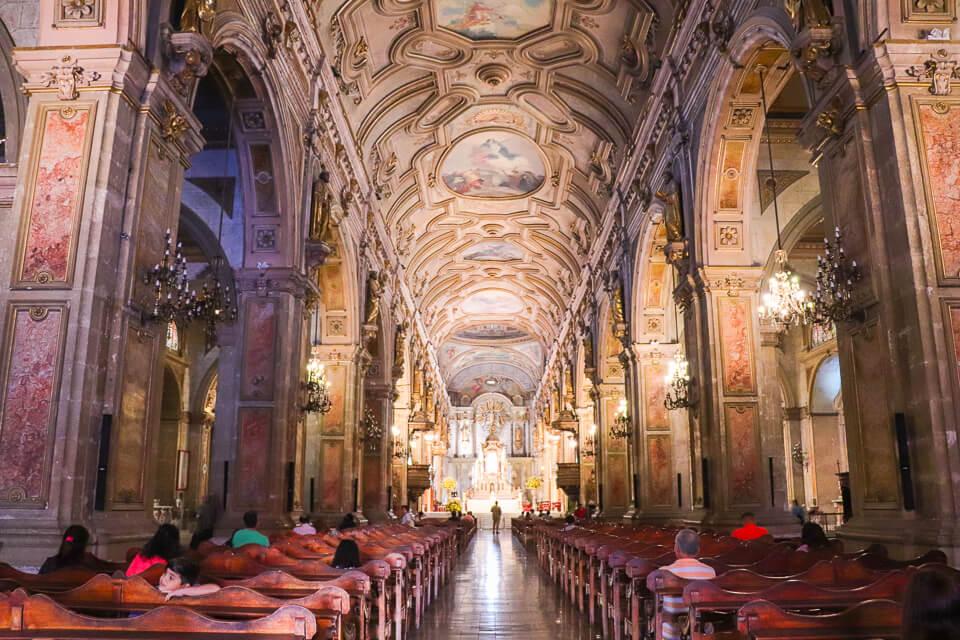 Roteiro de 1 dia em Santiago - Catedral Metropolitana