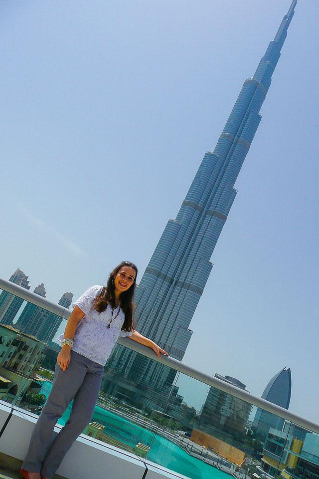 Ver Dubai de cima no At The Top (Burj Khalifa)