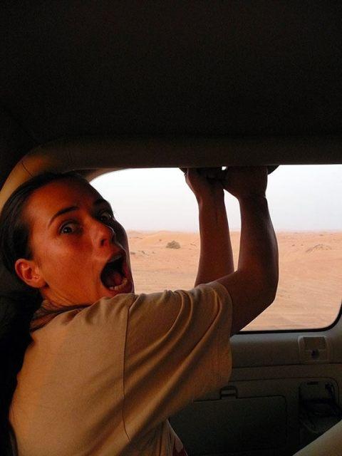 Passeio de jeep pelo deserto de Dubai