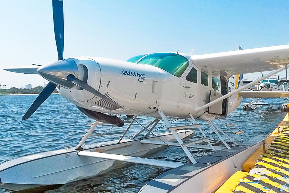 Ver Dubai de cimade hidroavião (Seawings)