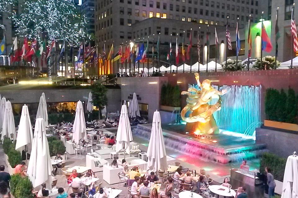 Roteiro em Nova York com visita ao Rockefeller Center