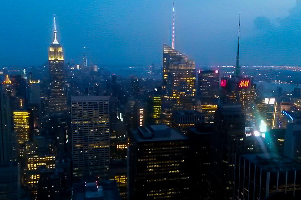 Roteiro em Nova York com visita ao Top of the Rock