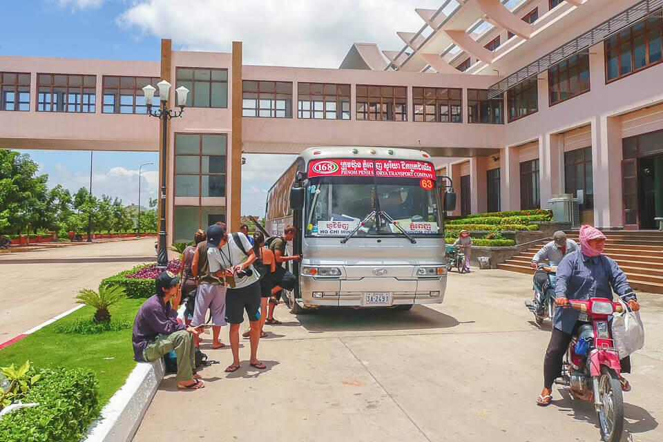 Atravessando a fronteira camboja vietna