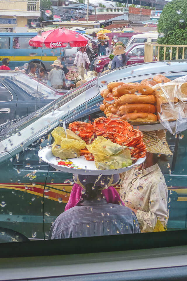 Onde comer na fronteira do camboja vietna