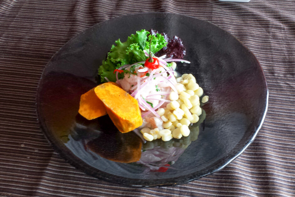 O que comer no Peru - Ceviche