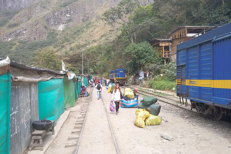 Como ir de Cusco a Machu Picchu - Águas Calientes