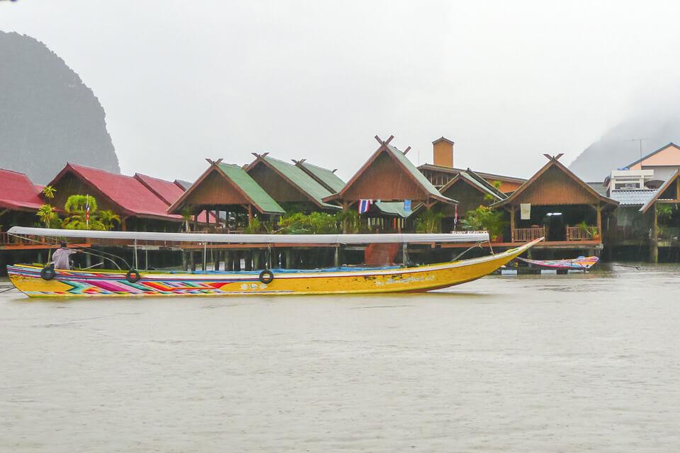 Vila Flutuante Phang-Nga Bay National Park Tailândia