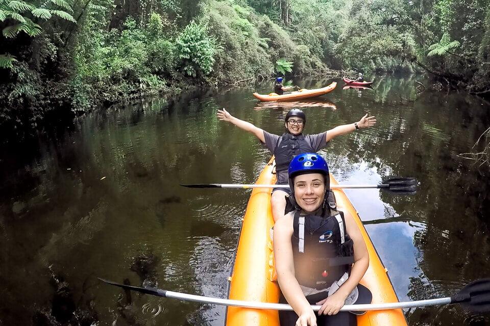 Pura Aventura - Trilhas e canoagem no Parque das Neblinas