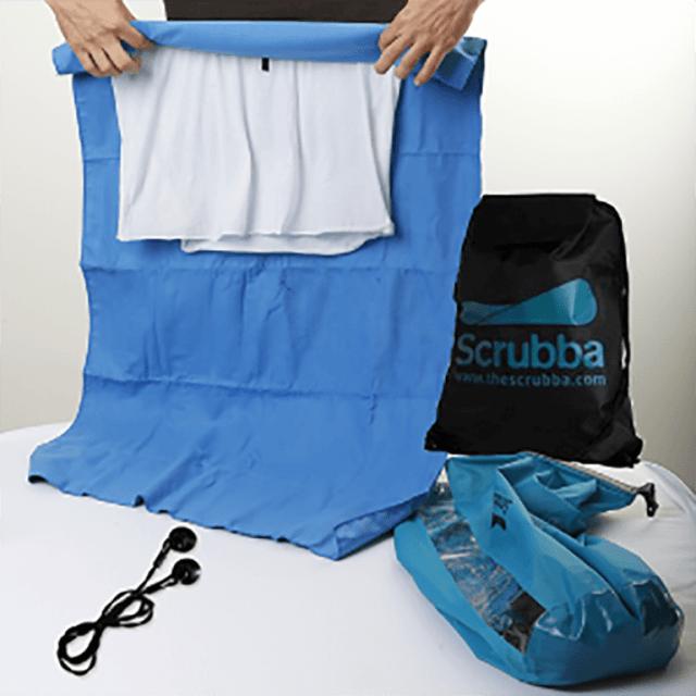 Review de equipamento The Scrubba Wash Bag