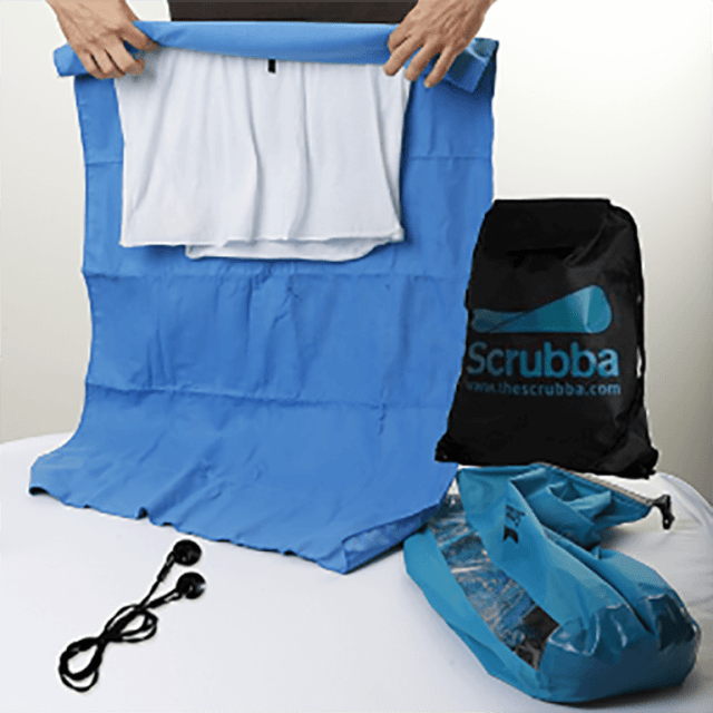 Review de equipamento The Scrubba Wash Bag